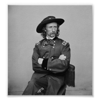 General George Custer 1 Print