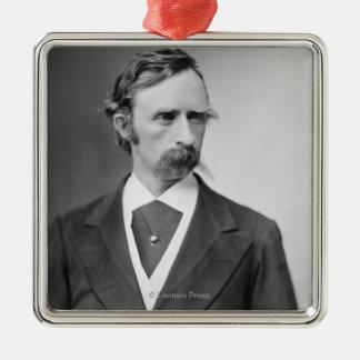 General George Custer Metal Ornament