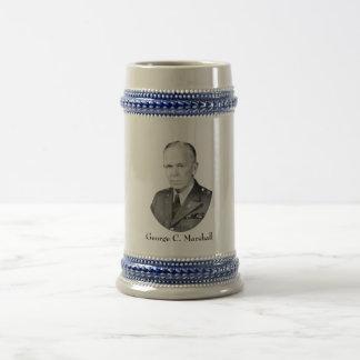 General George Marshall Beer Stein