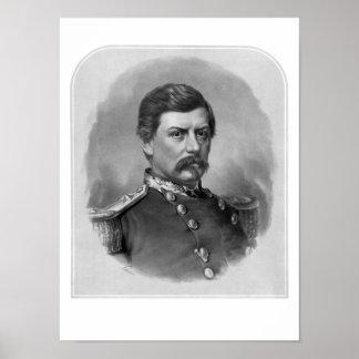 General George McClellan de la unión Póster