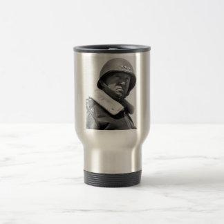 General George Patton -- WW2 15 Oz Stainless Steel Travel Mug