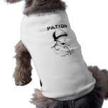 General George S. Patton Jr. Pet T Shirt