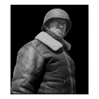 General George S. Patton Jr. Poster