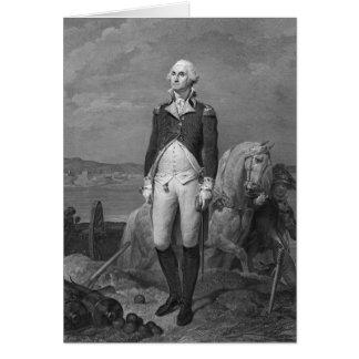 General George Washington 1839 Card