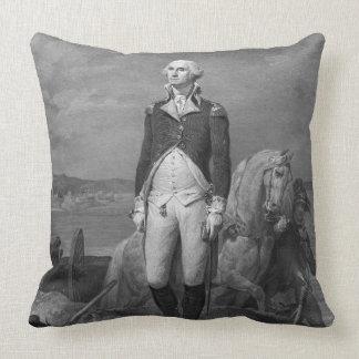 General George Washington 1839 Throw Pillow