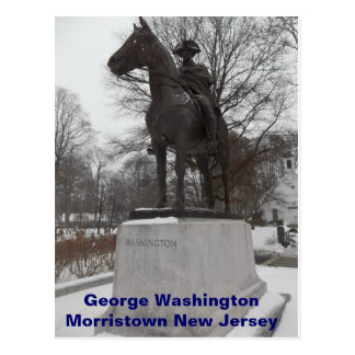 General George Washington at Morristown Postcard