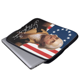 General George Washington Laptop Sleeve