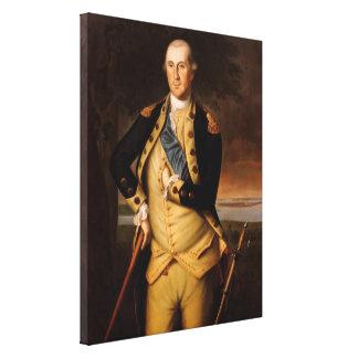 General George Washington Impresión En Lienzo Estirada