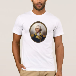 General George Washington Porthole Painting T-Shirt