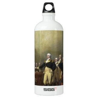 General George Washington Resigning His Commission Aluminum Water Bottle