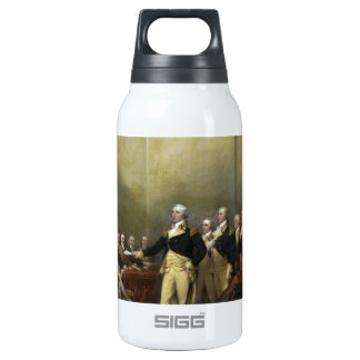 General George Washington Resigning His Commission Insulated Water Bottle
