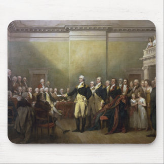 General George Washington Resigning His Commission Mouse Pad