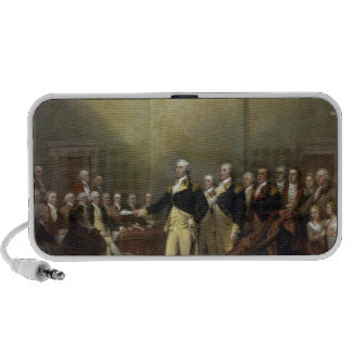 General George Washington Resigning His Commission Travelling Speakers