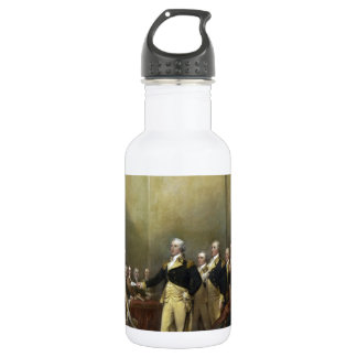General George Washington Resigning His Commission Stainless Steel Water Bottle