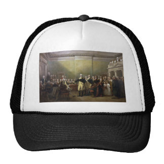 General George Washington Resigning His Commission Trucker Hat