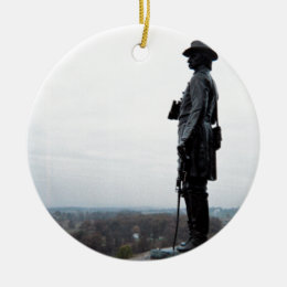 General Gouverneur Warren Memorial Ceramic Ornament
