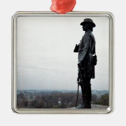 General Gouverneur Warren Memorial Metal Ornament