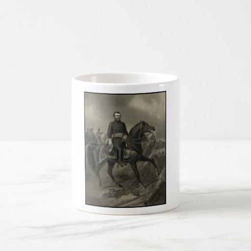 General Grant a caballo Taza Clásica