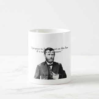 General Grant and Quote Coffee Mug