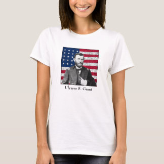 General Grant and The American Flag T-Shirt