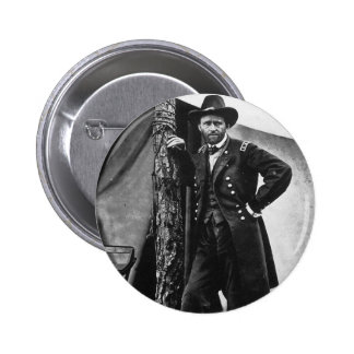 General Grant 2 Inch Round Button