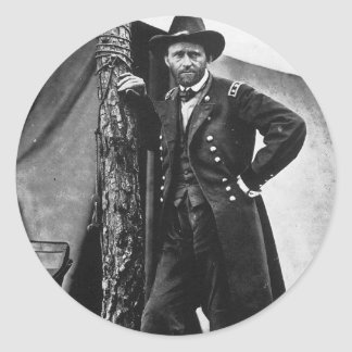 General Grant Classic Round Sticker