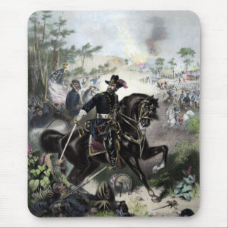 General Grant During Battle Mouse Pad