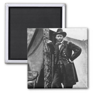 General Grant 2 Inch Square Magnet