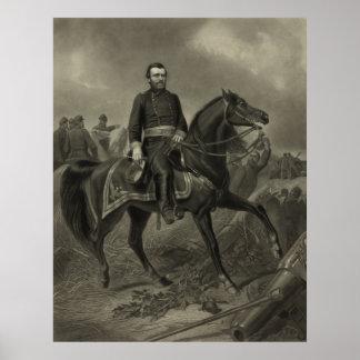 General Grant On Horseback Posters