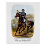 General Grant  -- Our Old Commander Print