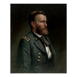 General Grant Painting Poster