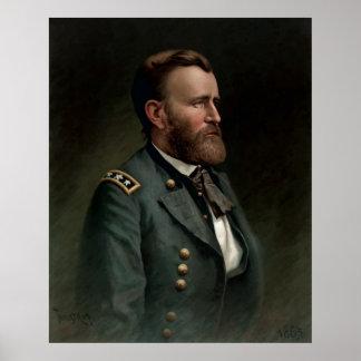 General Grant Painting Print