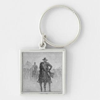 General Grant reconnoitering Keychain