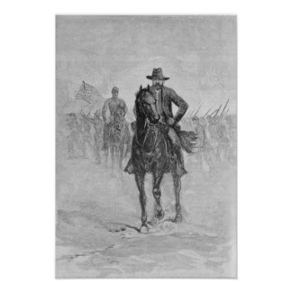 General Grant reconnoitering Poster