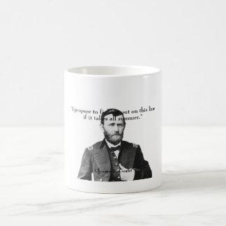 General Grant y cita Taza Clásica