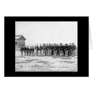 General Grant's Cavalry Escort 1865 Card
