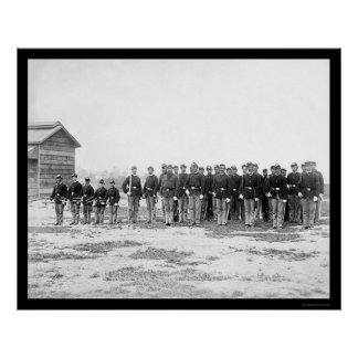 General Grant's Cavalry Escort 1865 Posters