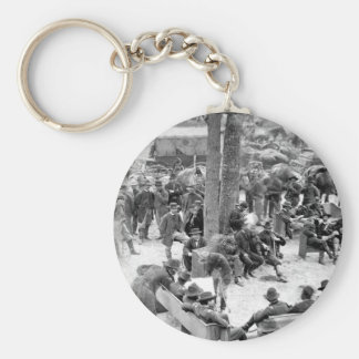 General Grant's Council_War Image Keychain