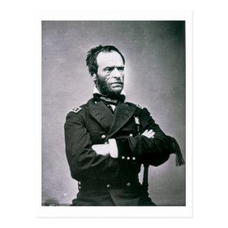 General Guillermo T. Sherman (1820-91) (foto de b/ Postal