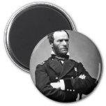 General Guillermo TECUMSEH Sherman, 1865. Imán Para Frigorifico