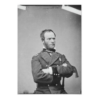 General Guillermo TECUMSEH Sherman del Ejército de Invitación 12,7 X 17,8 Cm