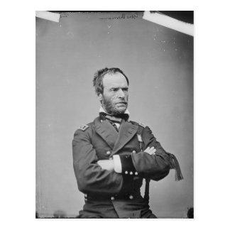 General Guillermo TECUMSEH Sherman del Ejército de Postal