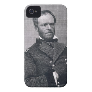 General Guillermo TECUMSEH Sherman, grabado Funda Para iPhone 4