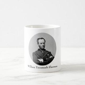General Guillermo TECUMSEH Sherman Taza De Café