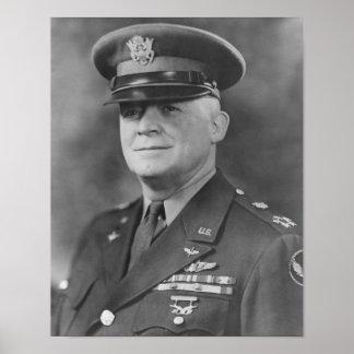"""General Henry """"Hap"""" Arnold Póster"""