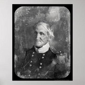 General Hugh Brady Daguerreotype 1845 Poster