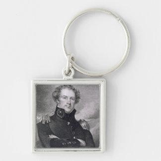 General importante Alexander Macomb (1782-1842), e Llavero Personalizado