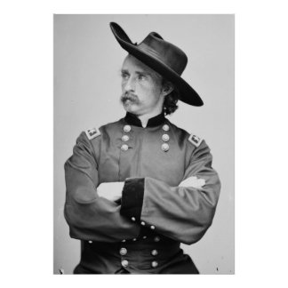 General importante George Armstrong Custer 1865 Poster
