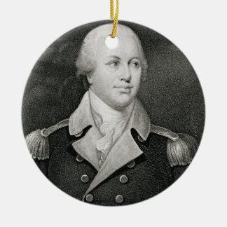 General importante Nathaniel Greene (1742-86), Adorno Navideño Redondo De Cerámica