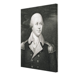 General importante Nathaniel Greene (1742-86), gra Impresión En Lienzo Estirada